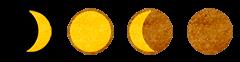 Aktuell: Zunehmender Mond