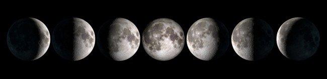 Mondphasen Mond-Ritual