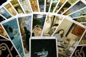 Wahrsagekarten,Personenkarten,Zukunft,Kipperkarten Foto: © meerisusi @ Fotolia